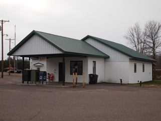 Flensburg Post Office, Flensburg, MN, December 3, 2011.