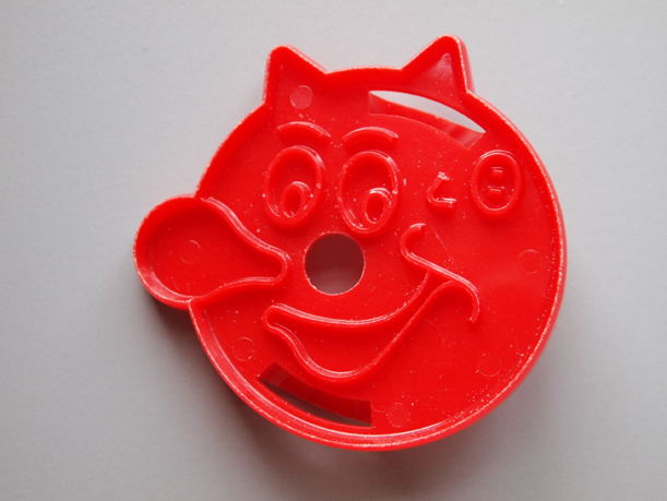 Reddy Kilowatt cookie cutter from the Morrison County Historical Society collection. Photo by Ann Marie Johnson.
