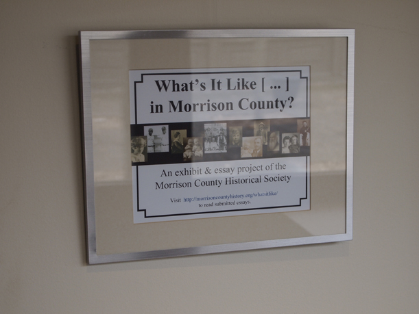 What's It Like [...] in Morrison County? exhibit, March 2012