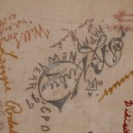 Embroidered Autographs, Detail 12 - MCHS Collections #1971.10.296