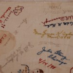 Embroidered Autographs, Detail 8 - MCHS Collections #1971.10.296