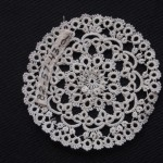 Lace medallion - MCHS Collections, #1982.57.43a