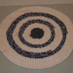 Round braided rug - MCHS Collections, #2005.1.1