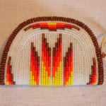 Beaded coin purse - MCHS Collections, #2007.4.1