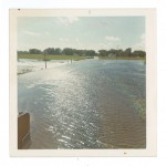 Pillsbury Road, 1972 Flood, Morrison County, Minnesota. Photo donated by Nancy Zarns. From the Morrison County Historical Society collections, #1978.54.2.