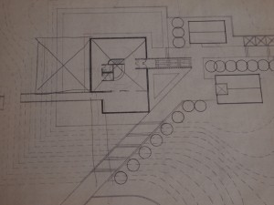 Stanley Fishman design for the Morrison County Historical Society museum in the early 1970s.