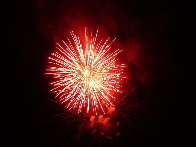 Fireworks - Photo courtesy cursedthing on Flickr: https://www.flickr.com/photos/cursedthing/726127111/in/photolist-27aAhX-27fnPs-27gErq-27fnN3-27aAdX-27aAgc-27adnv-9YZGjT-5zHAmv-26W3CS-27adke-27fnML-8fSnk6-dKLpCK-a3UVDV-7KG1uu-9Z3DJm-ewUHZ9-6y8P9T-6y8P9p-p6GucT-dKRU1J-3h9xyh-3h9yXA-27hoy1-dKRTuu-8MjoiK-8Mjkh6-8fR5vg-27aAh4-6ymw9d-6yhoXH-6ymwdA-6ymwab-6yhp32-6yhp8g-6yhp5X-6y5ST2-6ynAYL-6yitwM-26W3wG-8Mno5G-f9eLgf-f8ZumZ-6yhp4P-cwc3ss-oRoeHd-cwc3WE-jKdeDH-cpYrA7, Creative Commons - Attribution, No Derivatives.