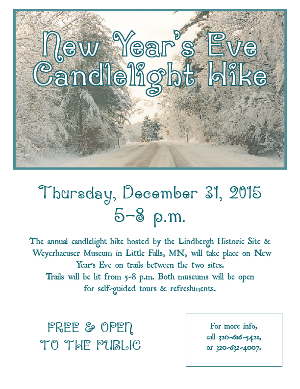 Candlelight Hike 2015 New Years Eve