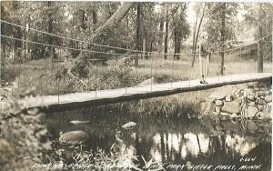Postcard of Charles A. Lindbergh State Park, Circa 1950