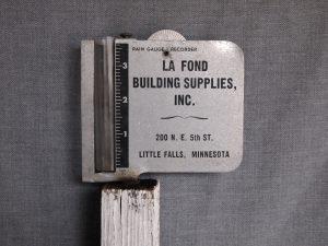 Rain Gauge from La Fond Building Supplies, Inc.