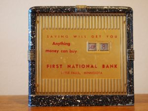 First National Bank Coin Bank
