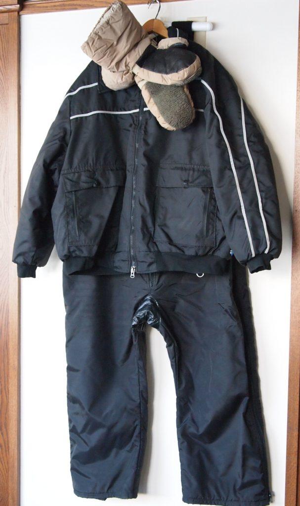Ed Tanner's snowsuit.