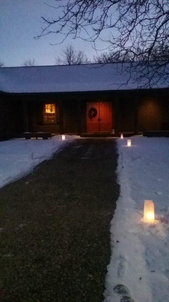 Candlelight Hike - Weyerhaeuser Museum, Little Falls, MN.
