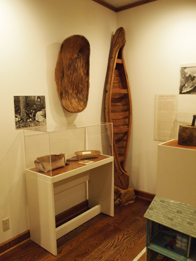 Exhibit at Weyerhaeuser Museum, Little Falls, MN