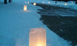 Candlelight Hike, Weyerhaeuser Museum, Little Falls, MN.