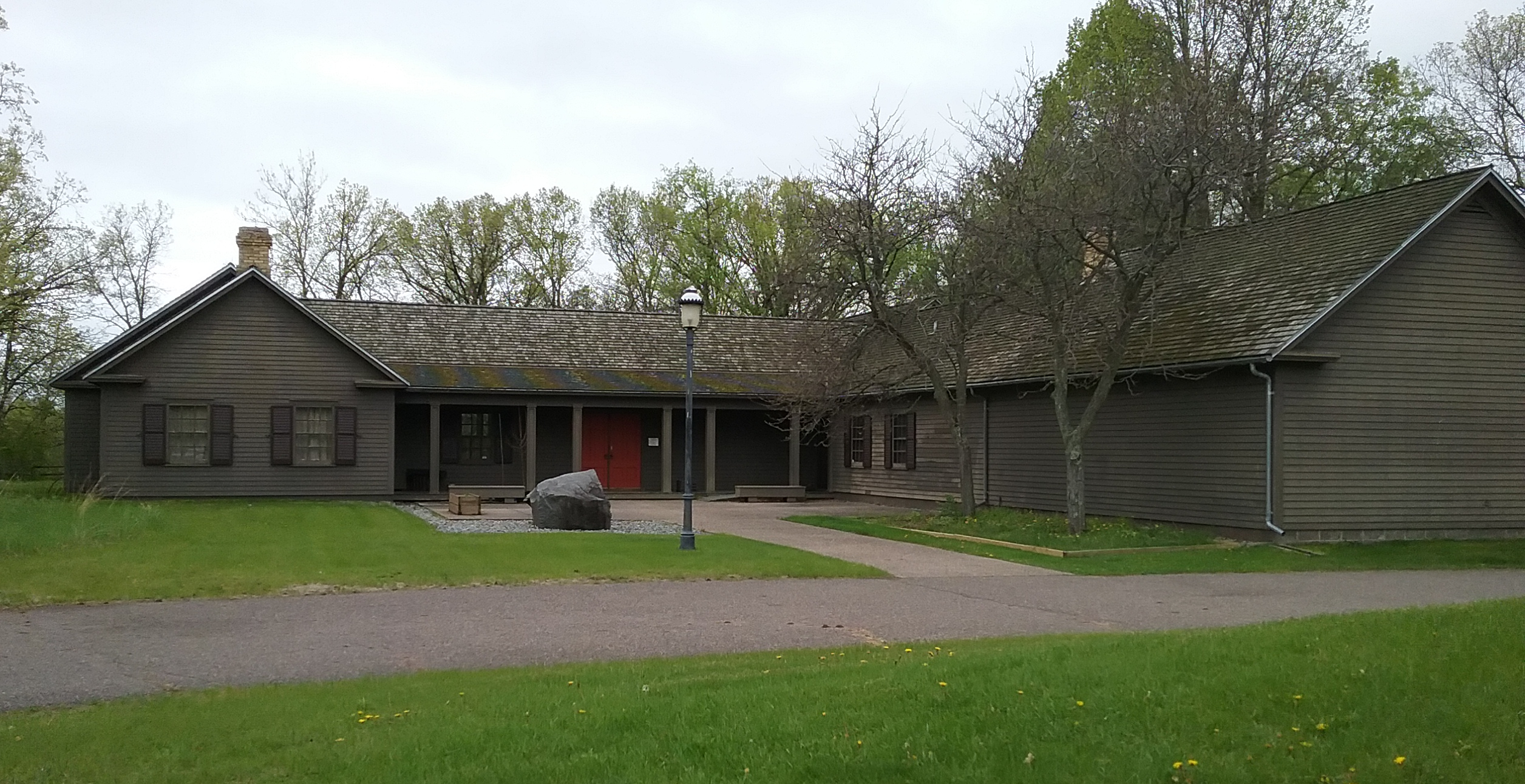 The Charles A. Weyerhaeuser Memorial Museum in Little Falls, MN. Home of the Morrison County Historical Society. 2019