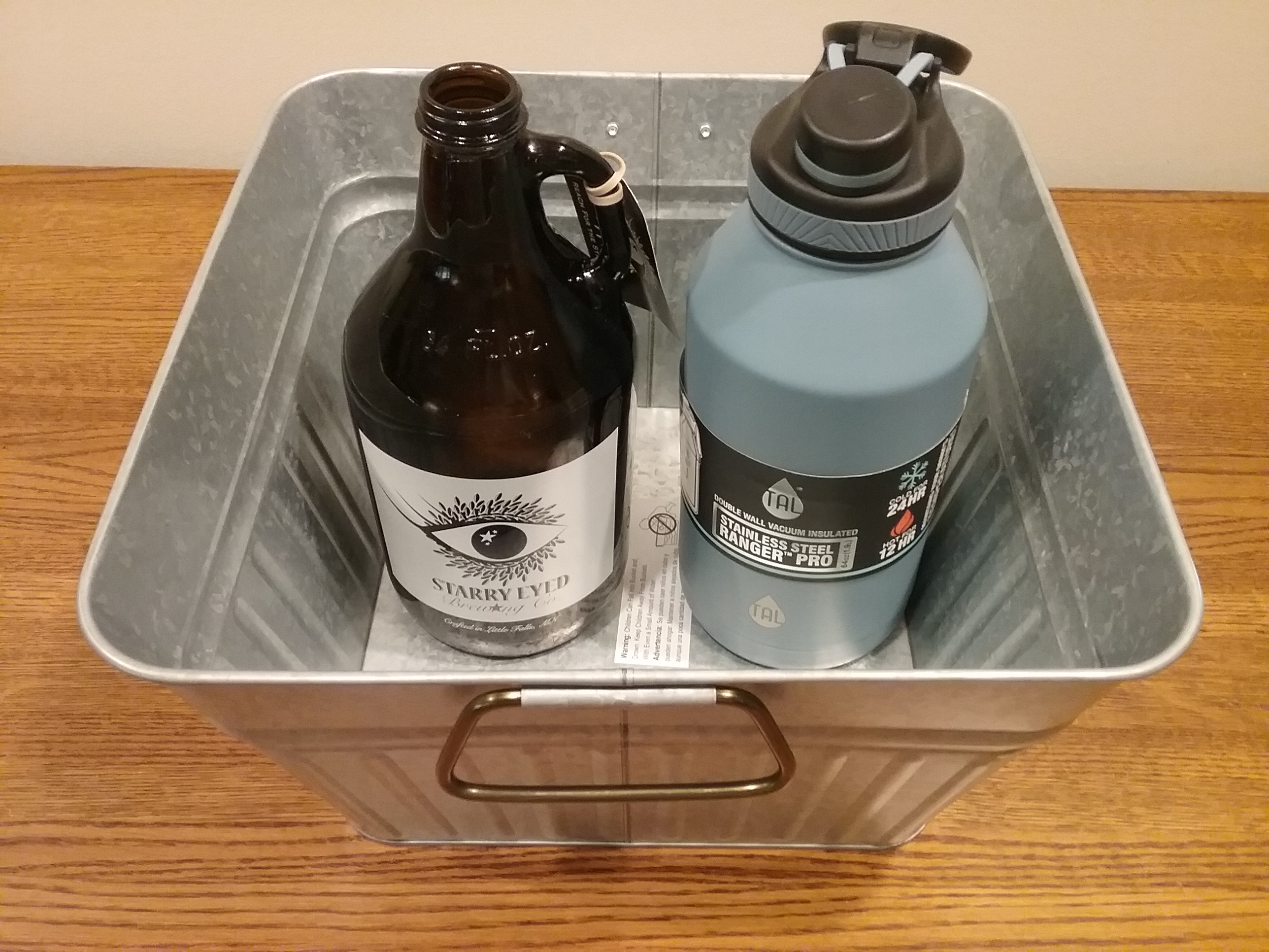 MCHS Silent Auction Item: Starry Eyed Brewing growler package.