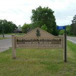 The Charles A. Weyerhaeuser Memorial Museum - Morrison County Historical Society sign
