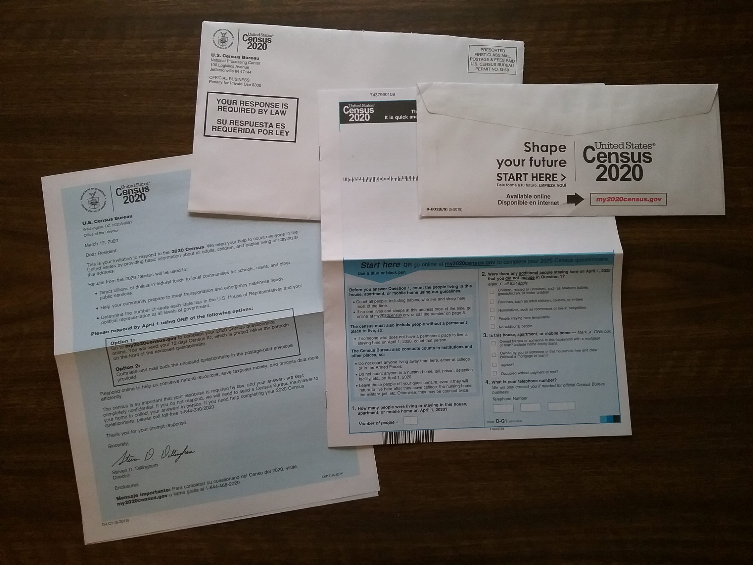 2020 US Census materials.