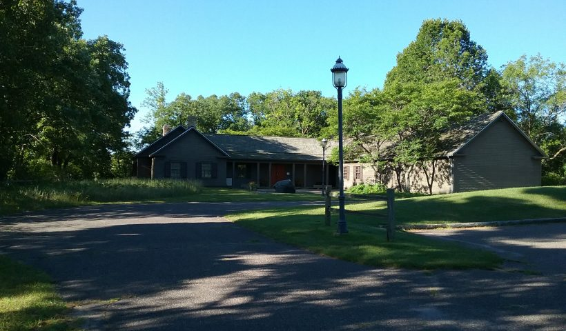 The Charles A. Weyerhaeuser Memorial Museum, home of the Morrison County Historical Society, Little Falls, MN, 2020.