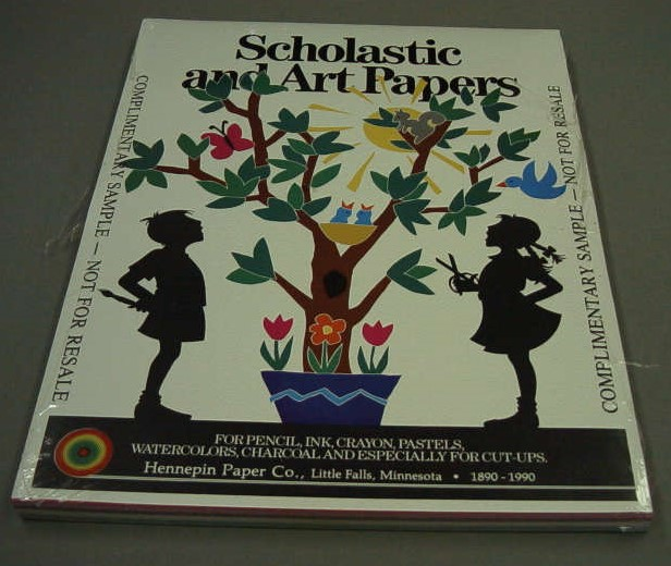 Scholastic and Art Papers from the Hennepin Paper Company of Little Falls, MCHS Collections #2001.28.2.A.