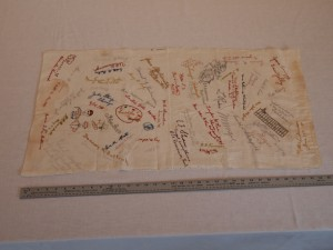 Embroidered Autographs - #1971.10.296