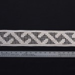 Hardanger lace - MCHS Collections, #1966.15.4b