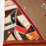 Crazy-quilt detail on table runner - MCHS Collections, #1971.10.280