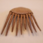 Hand-carved comb - MCHS Collections, #1977.27.5