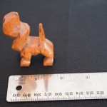 Carved Bassett Hound - MCHS Collections, #2007.19.5