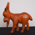 Carved goat - MCHS Collections, #2007.19.7