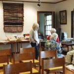 Artisans gather before Heirloom Arts Day, June 8, 2013, Weyerhaeuser Museum