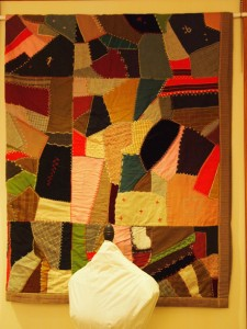 Crazy quilt - MCHS Collections, 2013