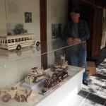John Gessel's wooden vehicles, Heirloom Arts Day, June 8, 2013, Weyerhaeuser Museum