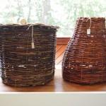Len Sharon's willow baskets, Heirloom Arts Day, June 8, 2013, Weyerhaeuser Museum