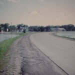 Unidentified road, 1972 Flood, Morrison County, Minnesota. Photo by Greg Proper from the collections of Steven Proper. Used with permission.