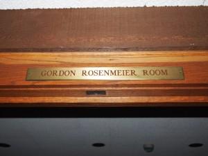 Gordon Rosenmeier Room, The Charles A. Weyerhaeuser Memorial Museum