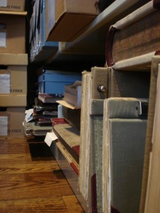 A portion of the archive at The Charles A. Weyerhaeuser Memorial Museum.