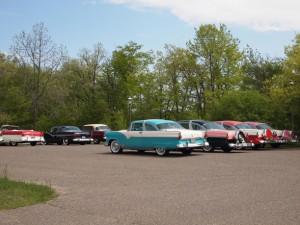 Vintage cars at Weyerhaeuser Museum, May 23, 2015.