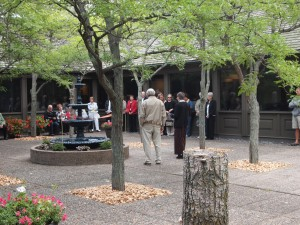 Weyerhaeuser Museum - 40th anniversary - August 2015 - Fountain re-dedication