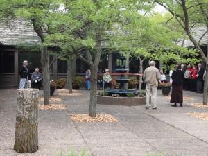 Weyerhaeuser Museum - 40th anniversary - August 2015 - Fountain re-dedication
