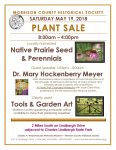Morrison County Historical Society plant and seed sale flier, 2018.