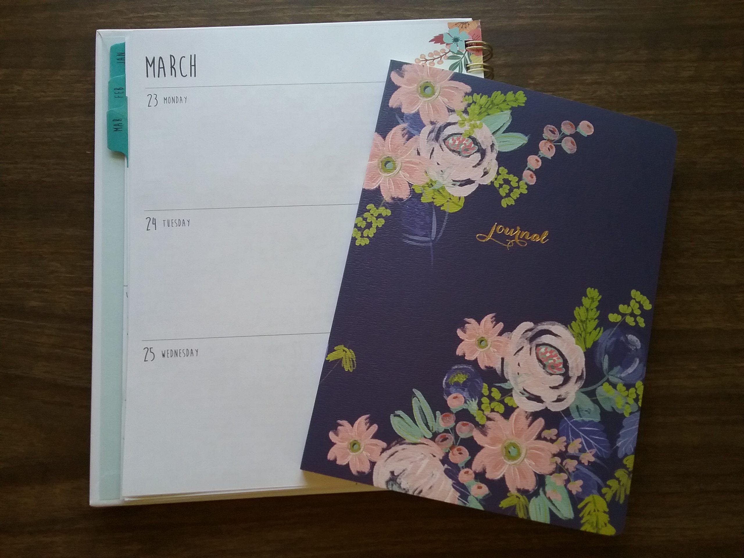 Calendar journal & notebook journal, 2020.