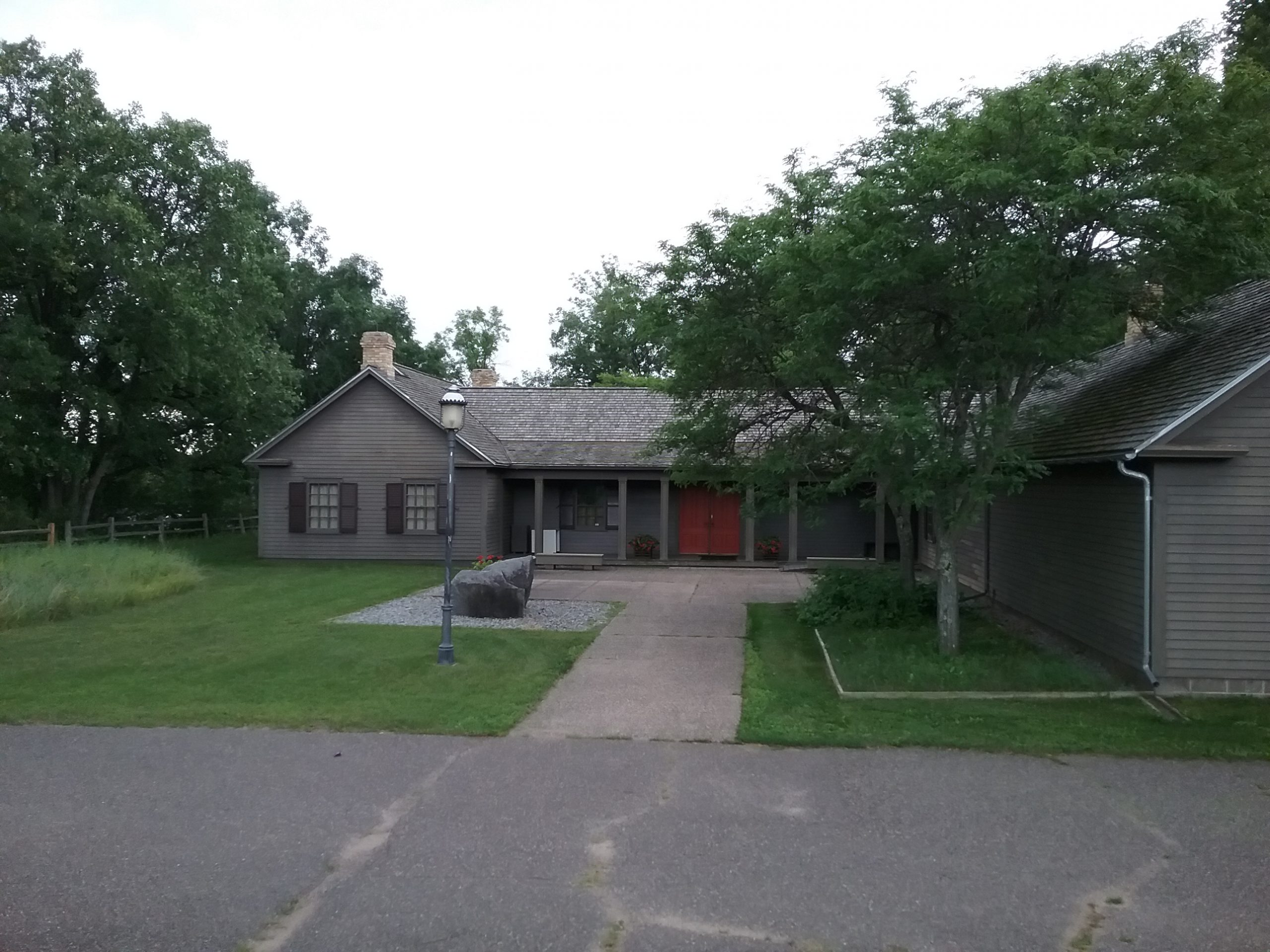 The Charles A. Weyerhaeuser Memorial Museum, Little Falls, MN. Photo by Mary Warner, July 2020.